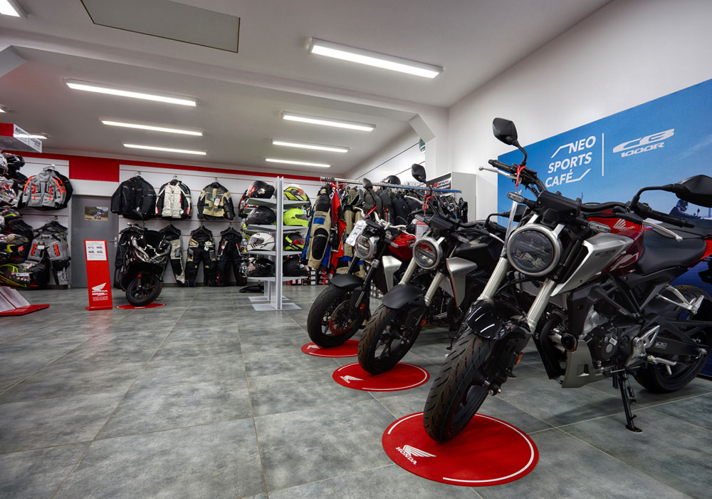 Showroom Moravamotors - Krhová